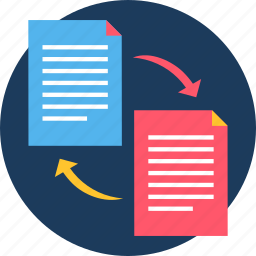 copy, document, file, format, page, paper, paste icon