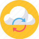cloud, communication, computing, download, network, storage, upload icon