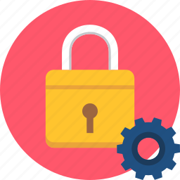 gear, key, lock, protection, security, setting, settings icon