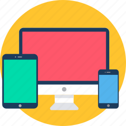 computer, device, laptop, mobile, screen, smartphone, technology icon