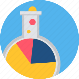 chemistry, experiment, flasks, lab, laboratory, research, science icon