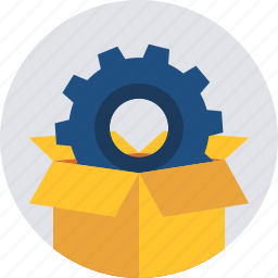 configuration, gear, options, package, preferences, setting, settings icon