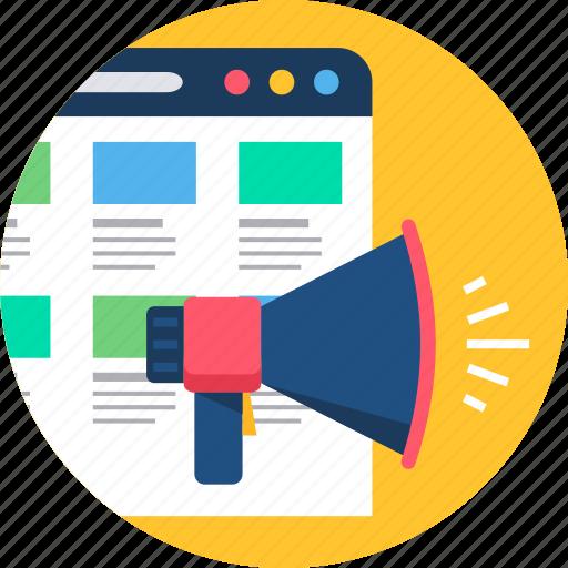 audio, broadcast, media, multimedia, network, play, promotion icon