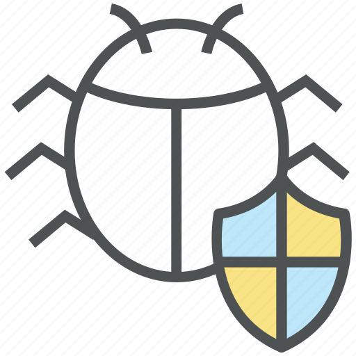 antivirus, bug protection, bug shield, protection, security, virus protection icon
