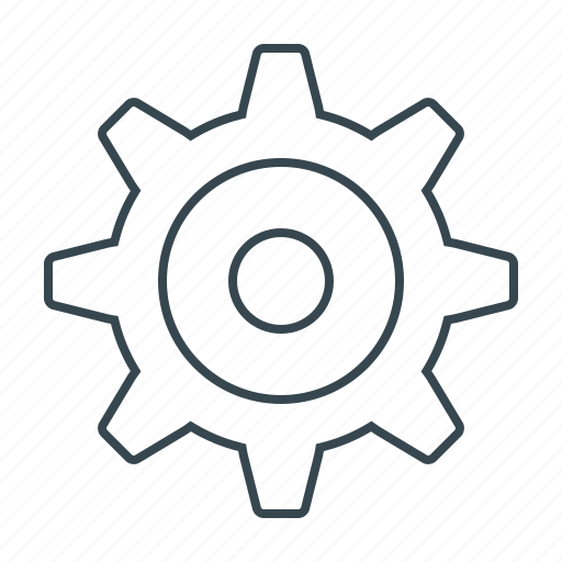 cogwheel, gear, industrial, mechanism, settings icon