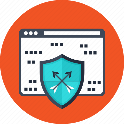 internet, network, protection, safe, security, shield, web icon