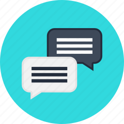 business, chat, clients, consulting, financial, message, seo icon