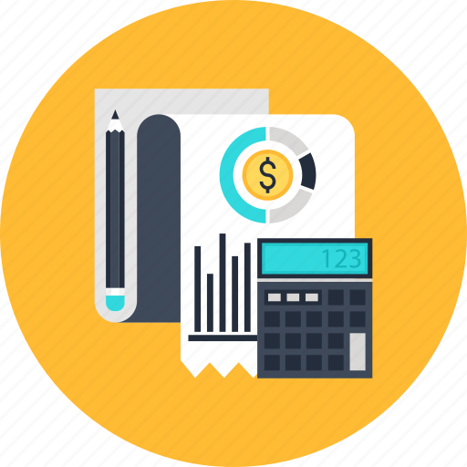 budget, business, calculator, financial, income, money, planning icon