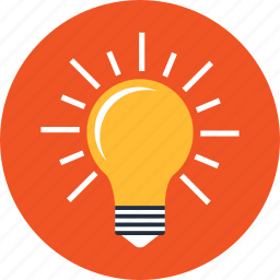 bulb, creative, generating, generation, genial, idea, web icon