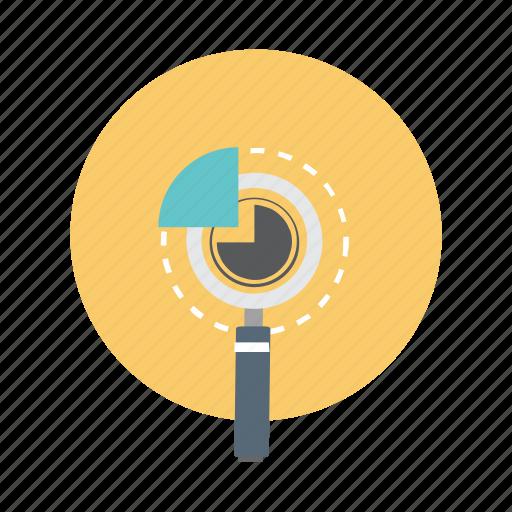 analysis, graph, pie, report icon