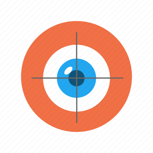 eye, look, see, view, vision, zoom icon