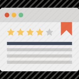 page, quality, rank, ranking, reputation, seo, web icon