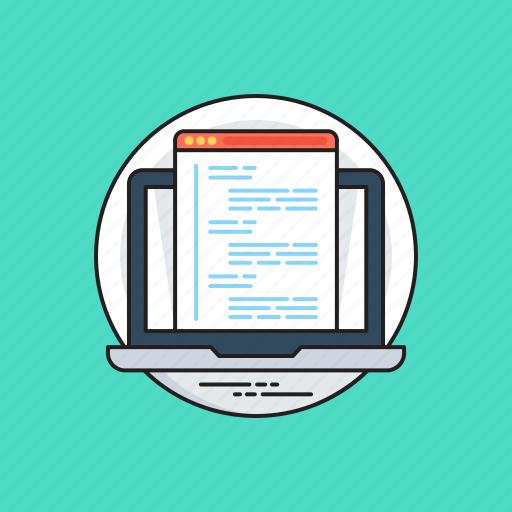 html, programming interface, source code, web code, web development icon