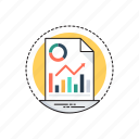 market analysis, market research, market survey, marketing report, marketing theory icon