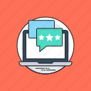 customer feedback, customer feedback on website, customer feedback software, customer rating, customer reviews icon