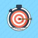 marketing campaign, marketing goal, marketing strategy, target marketing, targeting icon