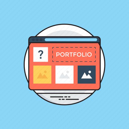 catalogue, information, portfolio, profile, summary icon