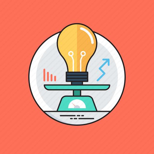 bright idea, creative idea, ideology, imagination, innovation icon