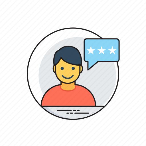 customer endorsement, customer reviews, customer testimonial, customer written recommendation, endorsement marketing icon