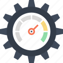 cogwheel, optimization, performance, seo, settings, speed, web icon