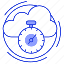 cloud optimization, internet optimization, internet speed, online optimization, speed optimization icon
