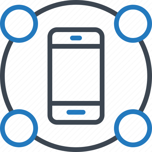 features, mobile, smartphone icon