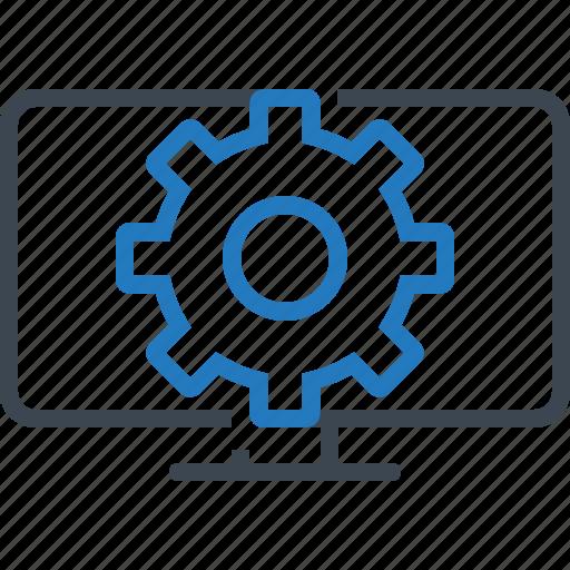 development, service, setting, web icon