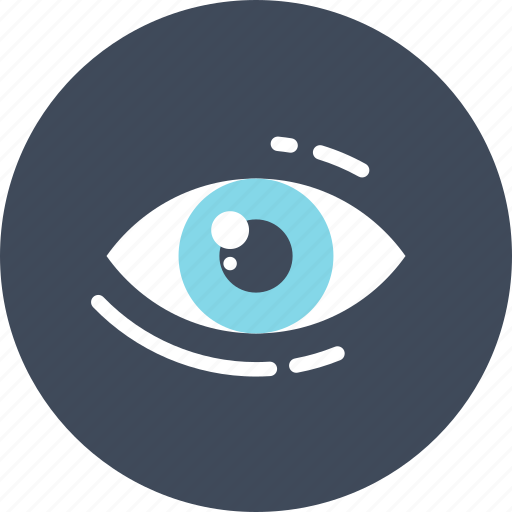 eye, review, search, see, view, vision, watch icon