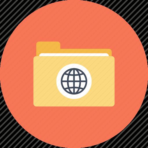 data, document, domain, file, folder, hosting, network icon