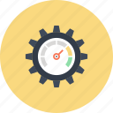 settings, speed, cogwheel, optimization, seo, performance, speedometer