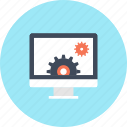 cogwheel, computer, development, gear, management, options, settings icon