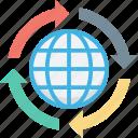 global coverage, globe, map, planet, world map