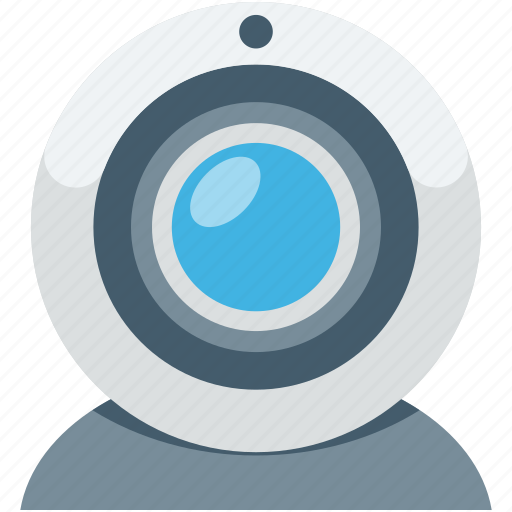 computer camera, video chatting, video conference, web camera, webcam icon
