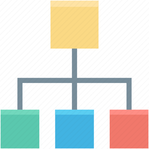 Sitemap Internet: Hierarchical Structure, Hierarchy, Network, Sharing Network, Sitemap Icon