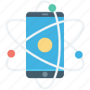 abstract technology, mobile, mobile network, mobile technology, smartphone icon