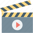clapboard, clapper, clapperboard, multimedia, shooting clapper