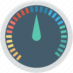gauge, pressure gauge, seo analyzer, seo meter, speedometer icon