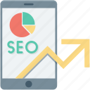 marketing, mobile seo, search engine, seo, seo services icon