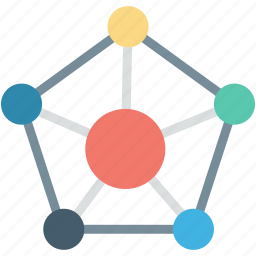 connections, network, social community, social media, social network icon