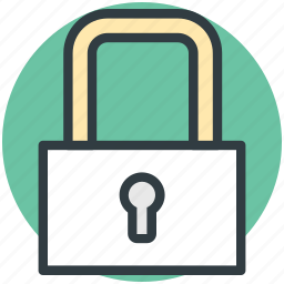 lock, padlock, password, privacy, security icon