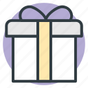 celebrations, giftbox, party, present, xmas icon