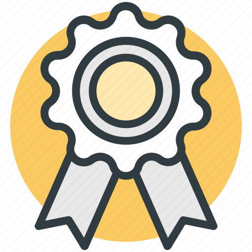 Award badge, badge, medal, quality symbol, ribbon icon - Download on Iconfinder