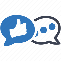 blogging, chat, comment, conversation, customer support, social media, speech bubbles icon