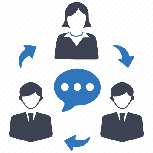 communication, team, teamwork, users icon