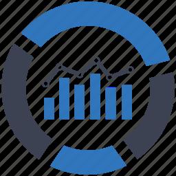 analysis, analytics, finance, financial, graphs, monitor, statistics icon