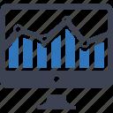 monitoring, diagram, analytics, seo, financial report, monetization