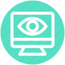 eye, lcd, monitor, optimization, preview, seo, site