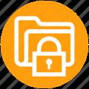 folder, lock, password, protect, secure, seo, web