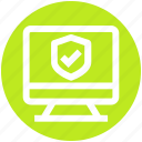 accept, lcd, monitor, secure, seo, shield, site
