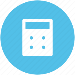 calculate, calculation, calculator, digital calculator, finance, math icon